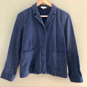 Eileen Fisher Jacket 100% Organic Cotton Like New